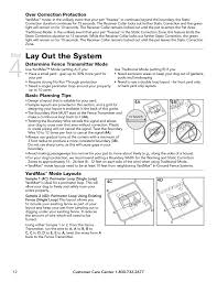 Lay Out The System Step Over Correction Protection Petsafe Yardmax Rechargeable In Ground Fence User Manual Page 12 36 Original Mode