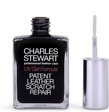 patent leather scratch repair re