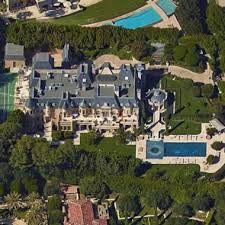 grand french cau style mega mansion