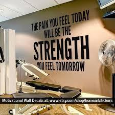 Home Gym Idea Gym Wall Decal Workout Room Home Home Gym Design