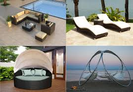 diffe types of outdoor furniture