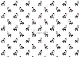 free cute zebras pattern wallpaper