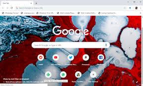 custom background as chrome new tab