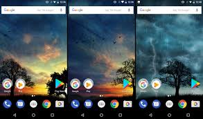 hintergrundbilder in android wallpaper