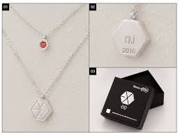 exo exo official jewelry necklace
