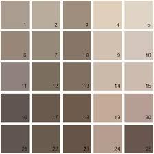 brown palette 01 house paint colors
