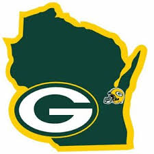 Official Green Bay Packers Nfl Football Home State Auto Sticker Window Decal 754603668166 Ebay