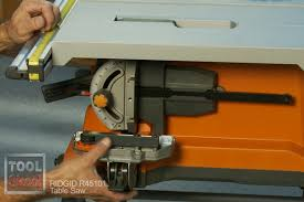 Ridgid 45101 10 Jobsite Table Saw Review Tool Box Buzz
