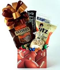 nfl football sports gift baskets