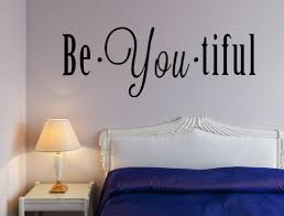 Beyoutiful Vinyl Wall Decal Inspirational Inspirational Wall Signs