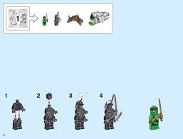 LEGO 70679 The Ultra Dragon Instructions, Ninjago