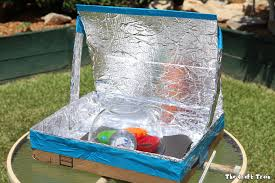 diy solar oven from a repurposed