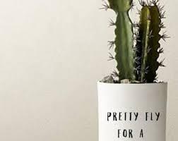 Planter Decals Etsy