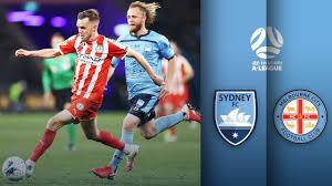 Sydney FC vs Melbourne City FC ...