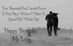 birthday wishes for lover r tic cute funny impressive