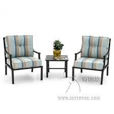 patio furniture dining set 3 piece cast