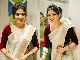 14 simple effortless saree makeup