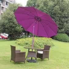 outdoor garden push up patio parasol