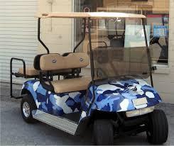 Urban Camo Blue Gray Golf Car Wrap Golf Car Decals Golf Cart Wraps Golf Cart Decals Golf Cart Custom Camo Wrapping Film Camo Covering Powersportswraps Com