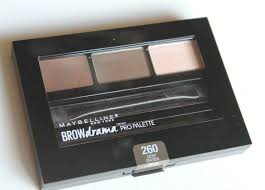deep brown brow drama pro palette review