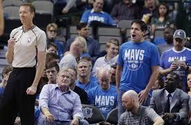 Dallas Mavericks owner Mark Cuban ...