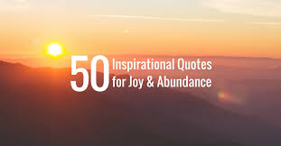 inspirational quotes for joy abundance jack canfield