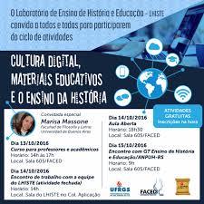 Cultura digital, materiais educativos e o ensino de história |