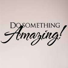 32 Do Something Wall Decal Sticker Motivation Success Goal Work For Sale Online Ebay