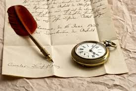 letter paper writing pen ink