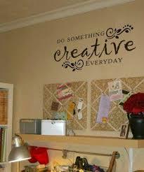 Creative Wall Art Craft Room Craft Room Organization Sewing Rooms