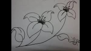 رسم ورود سهله ارسم ورد بسهولة ونمي موهبتك غرور وكبرياء