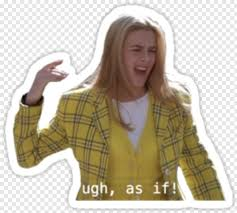 Clueless Clueless Stickers Hd Png Download 375x360 3741676 Png Image Pngjoy