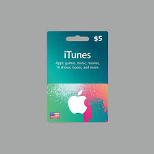 apple itunes gift card 5 usa games