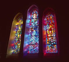 color in stained and colored glass