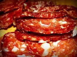 homemade salami soppressata charcuterie