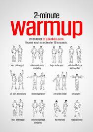 warmup stretching