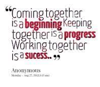 quotes about families coming together google search work
