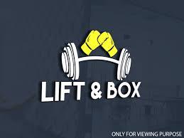Fitness Logo Design for Lift & Box ...