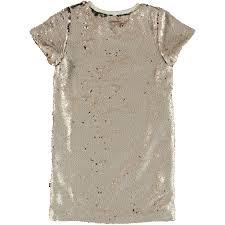 molo dirty white carol dress ss