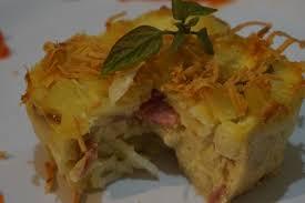 Resep Makroni Panggan Keju Leleh | Resep Baking & Cooking
