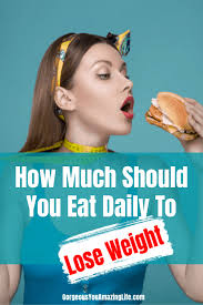 should you eat daily to lose weight