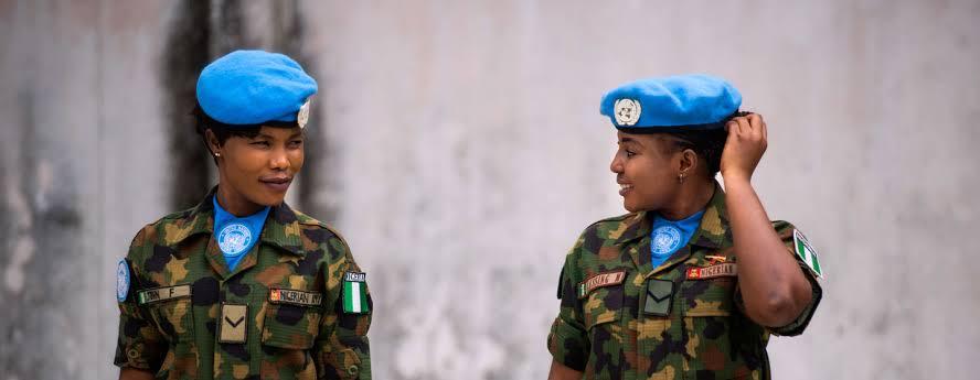 "Resultado de imagem para Nigerian female soldier"""
