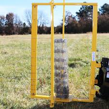 Category 1 3 Point Fence Stretcher And Unroller For Heavy Wire Fencing Spools