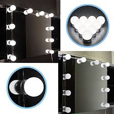 dghgf hollywood style led vanity mirror