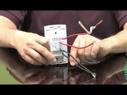 wiring a floor heating thermostat for