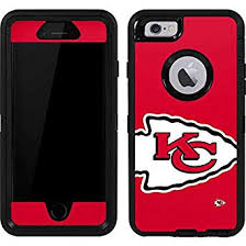 Amazon Com Skinit Decal Skin Compatible With Otterbox Defender Iphone 6 Officially Licensed Nfl Kansas City Chiefs Large Logo Design Industrial Scientific