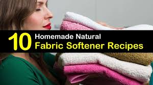 natural recipes for a diy fabric softener