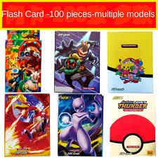 New 100pcs Flash Cards Pokemon Cards Shining GX Mega Pokemon Card ...