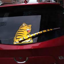 Car Wiper Decal Cat Sticker 7 48 X 9 84 Catsegory