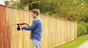 How To Paint A Fence With A Sprayer Go Paint Sprayer